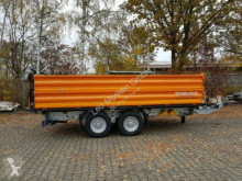 Möslein three-way side trailer 13 t Tandem Kipper Tiefladermit Bordwand- Aufsa