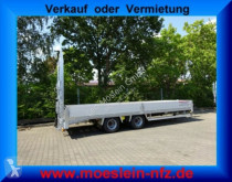 Möslein 19 t Tandemtieflader, hydr. Rampen-- Neufahrzeu trailer used heavy equipment transport