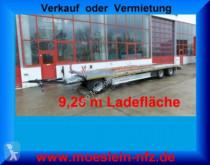 Möslein 3 Achs Plato- Tieflader- Anhänger trailer used heavy equipment transport