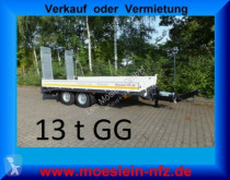 Möslein Neuer Tandemtieflader 13 t GG trailer used heavy equipment transport