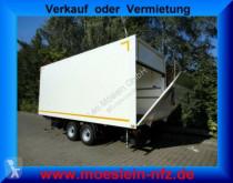 Möslein Tandem Koffer mit Ladebordwand 1,5 t-- Neufahrz trailer used box