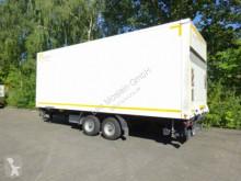 Möslein box trailer Tandem Koffer mit Ladebordwand und Durchladbar