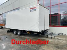 全挂车 厢式货车 Möslein Tandem- Koffer- Anhänger, Durchladbar-- Wenig B