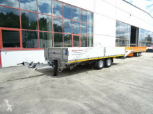 Möslein Tandemtieflader trailer used heavy equipment transport