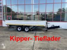 Three-way side trailer Tandemkipper- Tieflader