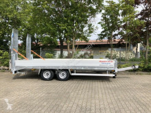 Möslein Neuer Tandemtieflader, 6,26 m Ladefläche trailer used heavy equipment transport