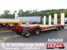 无公告全挂车 Müller-Mitteltal 4-Achs-Tiefladeanhänger 二手