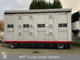 Stehmann3 Stock Ausahrbares Dach Vollalu trailer used livestock trailer