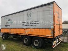 Kögel 3 Achs Bordwandanhänger- Edscha-Portal- BPW trailer used tarp