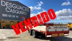 LAG flatbed trailer A2 18 WC