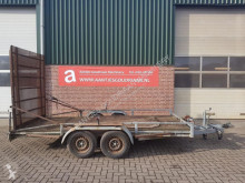 Heavy equipment transport trailer Aanhanger transporter