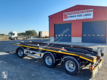 Louault 3 essieux avant train trailer used hook arm system