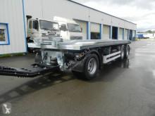 Remorque porte containers Lecitrailer porte caisson plateau basculant 3 essieux, verrouillage hydraulique