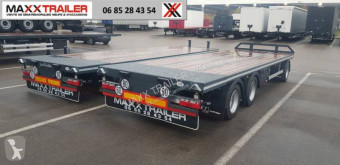 Lecitrailer 2x DISPO MAi 2021 trailer new straw carrier flatbed