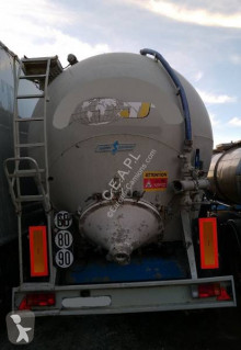 Spitzer SK 45C AL trailer used powder tanker