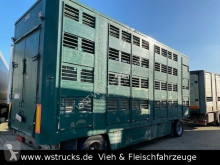 Michieletto 3 Stock Hubdach Vollalu trailer used livestock trailer