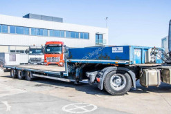 Robuste Kaiser heavy equipment transport semi-trailer KAISER DIEPLADER SSB30 + twist-locks