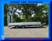 Möslein heavy equipment transport trailer 19 t Tandemtieflader, hydr. Rampen-- Neufahrzeu