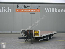 Remolque caja abierta teleros Blomenröhr 682 / 14000, Container Twistlock, ALU Rampen