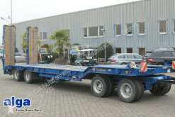 Goldhofer TU 4-32/80, 4-Achser, 30to Nutzlast, Hydr.Rampen trailer used heavy equipment transport