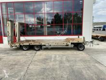 Langendorf heavy equipment transport trailer 3 Achs Tiefladeranhänger