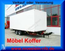 Remolque furgón Möslein Tandem- Möbel Koffer- Anhänger-- Neufahrzeug --