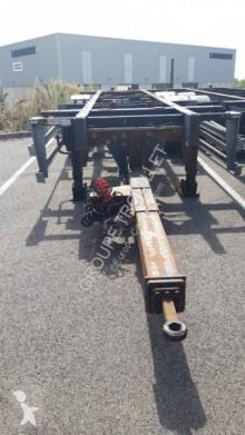 Przyczepa do transportu kontenerów SRT REMORQUE PORTE CAISSE MOBILE