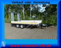 Möslein heavy equipment transport trailer Neuer Tandemtieflader