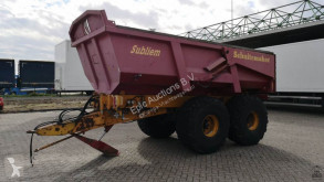 Schuitemaker Subliem 220 trailer used tipper