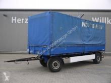 Krone tarp trailer Anhänger Pritsche, Plane, BPW, Edscha