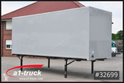 تجهيزات الآليات الثقيلة هيكل العربة صندوق عربة مقفلة Spier WB 7,45 Koffer, Rolltisch, klapp Boden, 2850 Innenhöhe