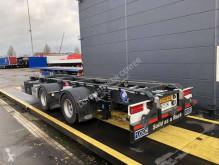 Floor konténerszállító pótkocsi container middenas aanhangwagen