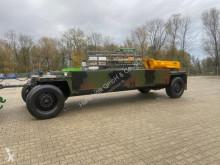 Heavy equipment transport trailer Tieflader 15t