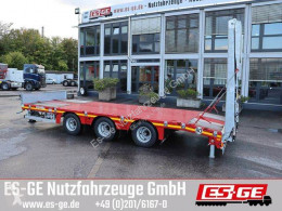 Heavy equipment transport trailer Tridemanhänger