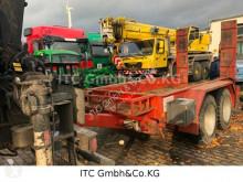 Heavy equipment transport trailer Tieflader Anhänger
