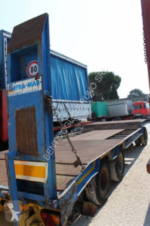 FGM FRAMAR trailer used heavy equipment transport