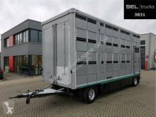 Pótkocsi Pezzaioli Fiege Tec / Ka-Ba / 4 Stock használt állatszállító pótkocsi