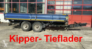 Remorque tri-benne Müller-Mitteltal 13,5 t Tandemkipper- Tieflader
