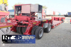 Capperi rimorchio culla eccezionale 4assi trailer used heavy equipment transport