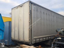 Krone tarp trailer Gleich Durchlader Edscha Jumbo Staplerrampe Portaltüre