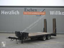 Pótkocsi Müller-Mitteltal Anhänger Plattform, mech. Rampen, Blatt, SAF használt plató
