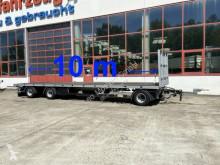 Möslein flatbed trailer 3 Achs Jumbo- Plato- Anhänger, 10 m Ladeflächen