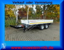 Möslein three-way side trailer Tandem Kipper Tieflader -- Neufahrzeug --