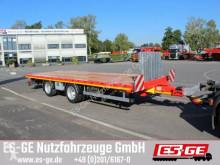 Pótkocsi Es-ge Tandemanhänger - Containerverr. használt