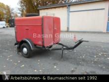 Remolque Sonstige/Other VEB Görlitz Feuerwehr Löschanhänge furgón usado