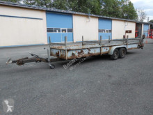 Langmaterialanhänger Partenheimer KA trailer used heavy equipment transport