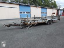 Heavy equipment transport trailer Langmaterialanhänger Partenheimer KA