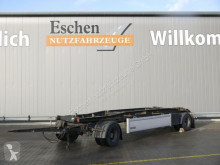 Remorque porte containers Hüffermann HSA 18.70 Schlitten, SAF, 2 Staukästen