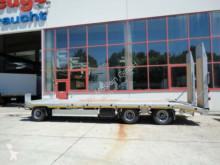 Möslein heavy equipment transport 3 Achs Tieflader- Anhänger mit gerader Ladefläc