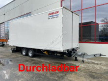 Remolque furgón Möslein Tandem- Koffer- Anhänger, Durchladbar-- Wenig B